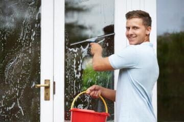 איך לנקות חלונות מבחוץ?
